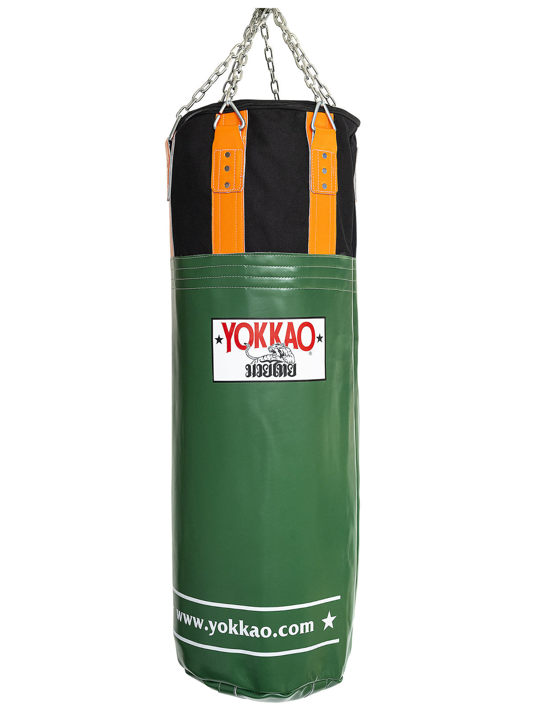 Eden Green/Orange Tiger Heavy Bag - YOKKAO