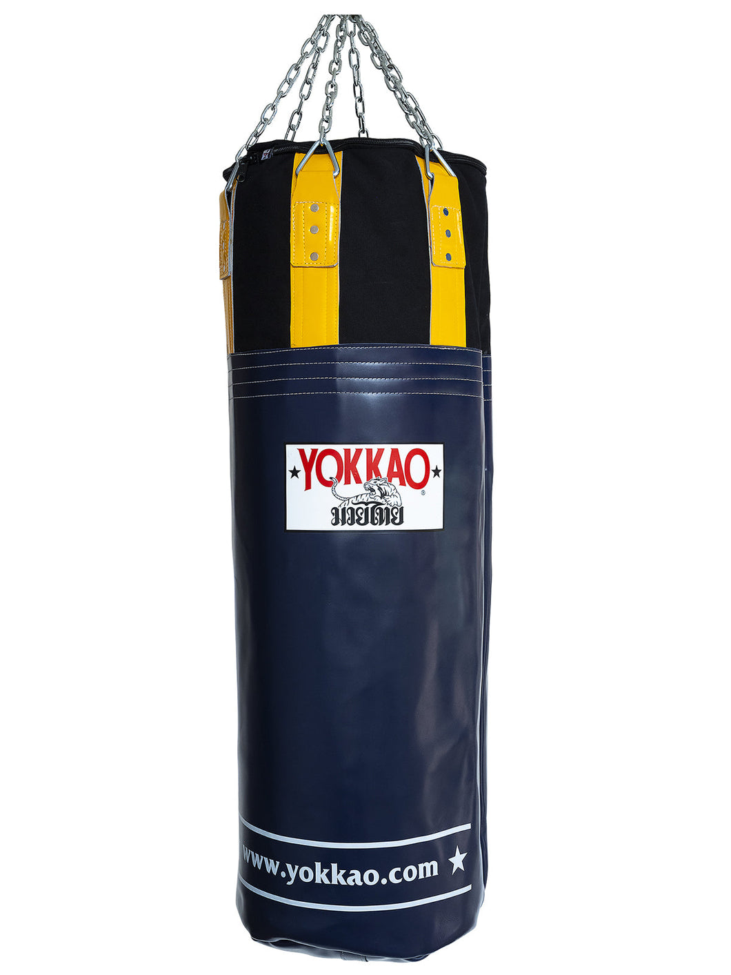 Evening Blue/Gold Fusion Heavy Bag - YOKKAO