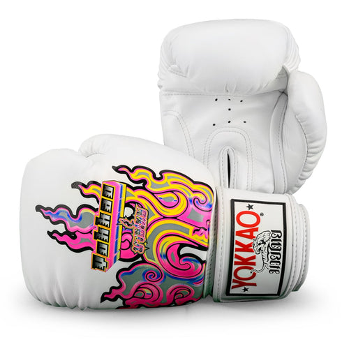 Bangkok Flames Boxing Gloves - YOKKAO