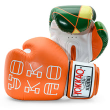 Load image into Gallery viewer, Good Vibes Muay Thai Gloves - YOKKAO