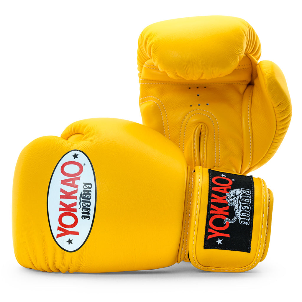 Matrix Gold Fusion Boxing Gloves - YOKKAO