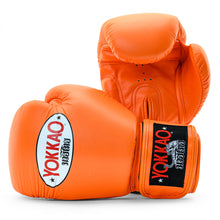 Load image into Gallery viewer, Matrix Orange Tiger Muay Thai Gloves - YOKKAO