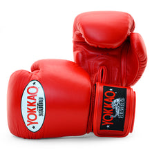 Load image into Gallery viewer, Matrix Red Boxing Gloves - YOKKAO