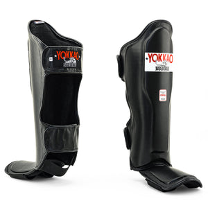 Matrix Black Shin Guards - YOKKAO