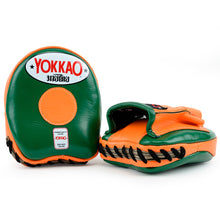 Load image into Gallery viewer, Focus Mitts Small Eden/Orange Tiger - YOKKAO