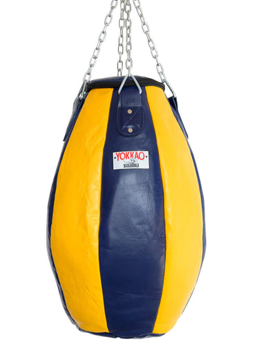 Tear Drop Heavy Bag Evening Blue/Gold Fusion - YOKKAO