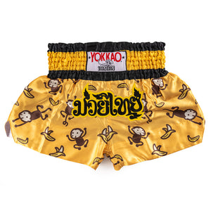 Monkey Satin Shorts - YOKKAO