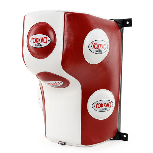 Wall Mounted Heavy Bag Biking Red/White