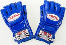 Load image into Gallery viewer, YOKKAO Blue Competition MMA Glove With Thumb - YOKKAO