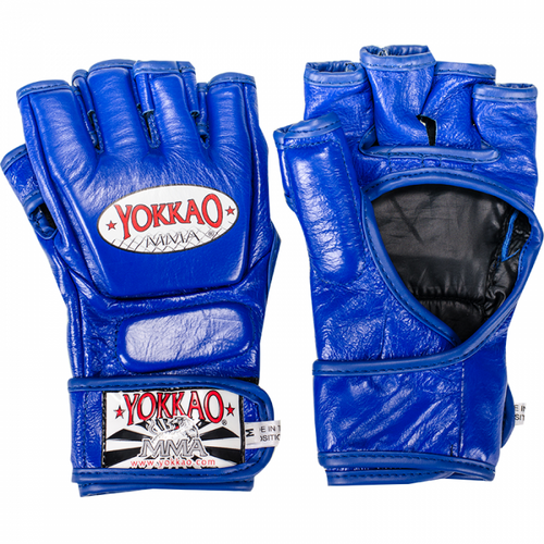YOKKAO Blue Competition MMA Glove With Thumb - YOKKAO