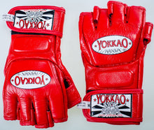 Load image into Gallery viewer, YOKKAO Red Competition MMA Gloves With Thumb - YOKKAO