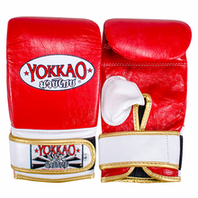 Load image into Gallery viewer, YOKKAO Training Bag Mitts Red