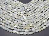 Moonstone, 6x9mm Nugget Beads, 15.5 Inch