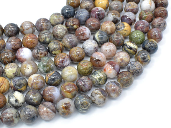 Pietersite Beads, 10mm Round Beads-BeadBasic