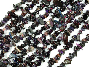 Sugilite Beads, Genuine Sugilite, Chips Beads, Approx (4-10) mm-BeadBasic