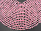 Rose Quartz Beads, 6mm (6.3mm) Round Beads-BeadBasic