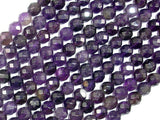 Amethyst, 6mm Faceted Round-BeadBasic