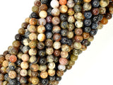 Pietersite Beads, 4mm Round Beads-BeadBasic