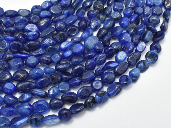 Kyanite Beads, Approx 6x7mm Nugget Beads
