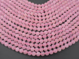 Rose Quartz Beads, 8mm (8.4mm) Round Beads-BeadBasic