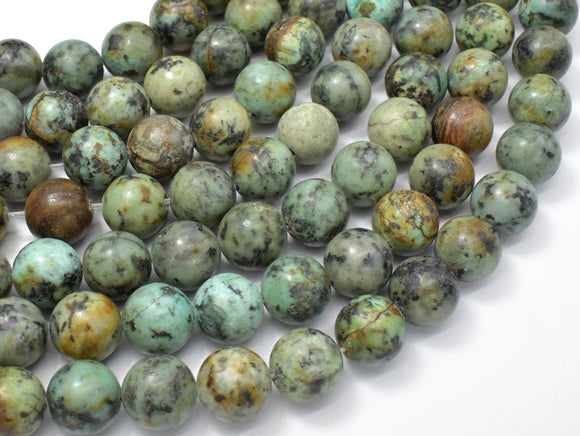 African Turquoise, 12mm Round Beads