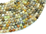 Dendritic Opal Beads, Moss Opal, 6mm Round Beads, 16 Inch