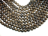 Coffee Jasper Beads, 12mm (12.5 mm) Round Beads, 15 Inch, Full strand
