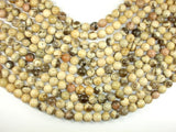 Feldspath Beads, Tiger Jasper Beads, 10mm Round Beads, 16 Inch