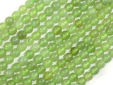 New Jade Beads, 6mm Round Green Beads-BeadBasic