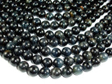 Blue Tiger Eye Beads, 10mm Round Beads, 15.5 Inch, Full strand