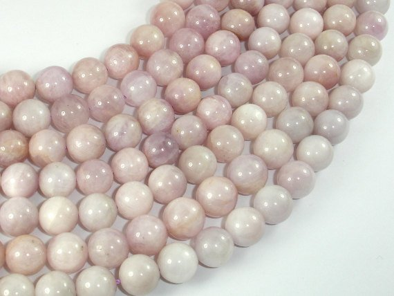 Kunzite, Round beads, 10mm-BeadBasic