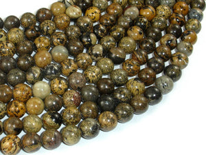 Artistic Jasper Beads, 8mm(8.4mm) Round Beads, 15.5 Inch, Full strand
