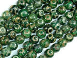 Tibetan Agate Beads, 10mm Round Beads-BeadBasic