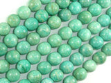 African Amazonite Beads, 10mm(10.4mm) Round Beads , 15.5 Inch, Full strand