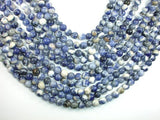 Sodalite Beads, 8mm (8.5mm) Round Beads, 15.5 Inch, Full strand