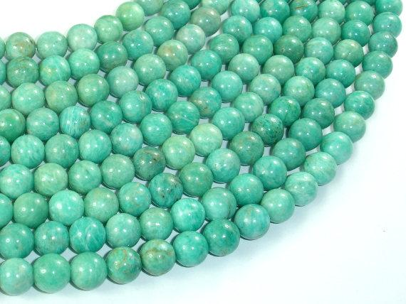 African Amazonite Beads, 8mm-BeadBasic