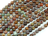 African Green Opal, 6mm(6.3mm) Round Beads, 16 Inch, Full strand