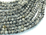 Sesame Jasper Beads, 6mm Round Beads-BeadBasic