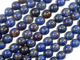 Blue Jasper Beads, 8mm(8.4mm) Round Beads, 15.5 Inch, Full strand