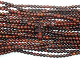 Rosewood Beads, 6mm(6.3mm) Round Beads, 26 Inch, Full strand