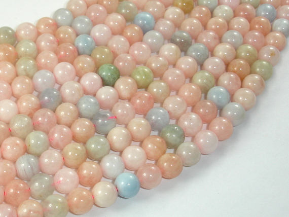 Beryl Beads, Aquamarine, Morganite, Heliodor