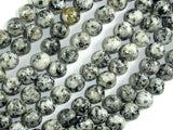 Sesame Jasper Beads, 8mm (8.4mm) Round Beads, 15 Inch, Full strand