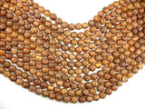 Tibetan Agate, 10mm Round Beads-BeadBasic