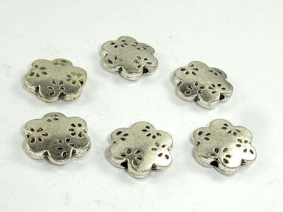 Flower Spacer, Flower Beads, Metal Spacer, Zinc Alloy