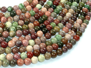 Imperial Jasper Beads, 6mm Round Beads-BeadBasic