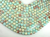 Impression Jasper, 10mm Round Beads-BeadBasic