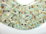 Amazonite Beads, 6mm (6.6mm) Round Beads, 15.5 Inch, Full strand
