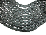 Black Lava, 13x18mm Rectangle Beads-BeadBasic