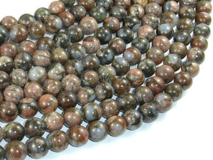 Rhyodacite Beads, 8mm(8.5mm) Round Beads-BeadBasic