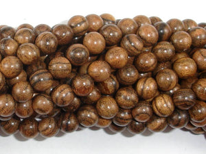 Tiger Skin Sandalwood Beads, 8mm(8.3mm) Round Beads, 33 Inch, Full strand